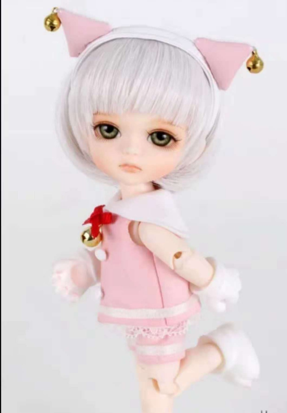 Free shipping Free shipping 1 8 bjd doll mile yellow