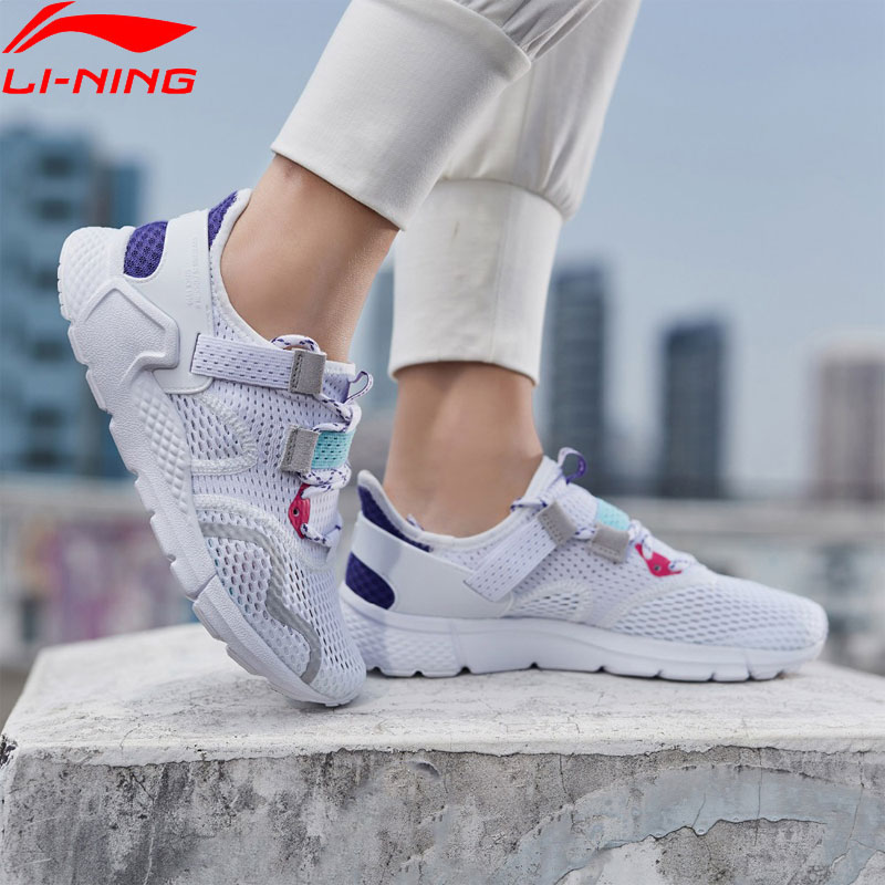 Li Ning Women MAFIA The Trend Lifestyle Shoes Breathable LiNing Classic Leisure Sport Shoes Fitness Sneakers