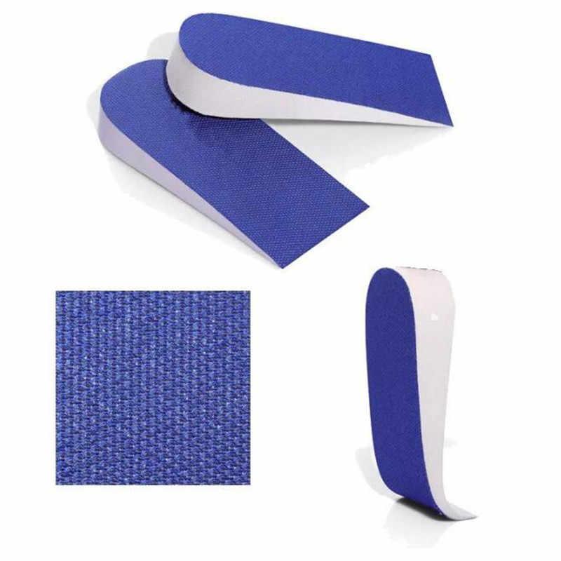 1 Pair Unisex 2.5 centimetri di Aumento di Altezza Solette Solette di scarpe Mezza Sottopiede Intensificare Inserto Tacco Scarpe Sportive Pad Cuscino Casuale