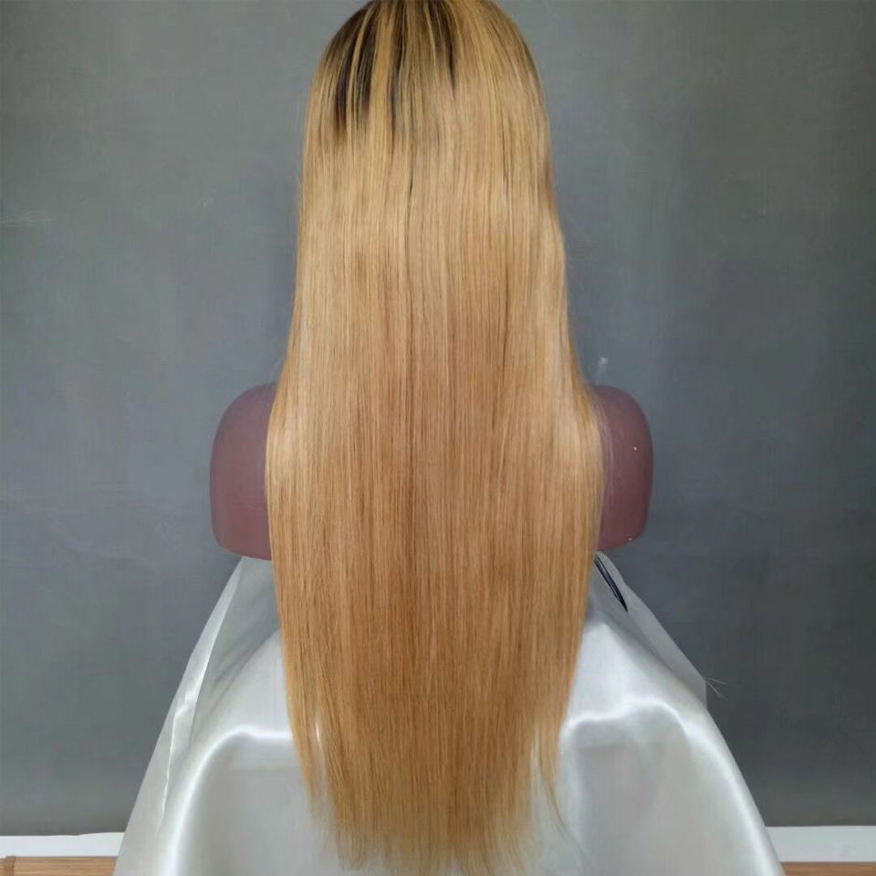 1B/613 Lace Front Wigs Pre-plucked Wig 150% Density 613 Lace Front Wigs Brazilian Straight Hair Remy Human Hair Wigs