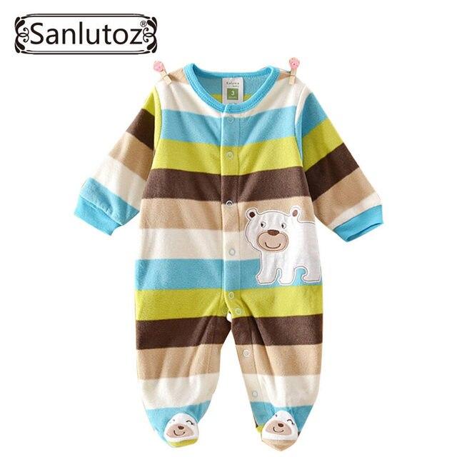 41c57d65a89b Baby Rompers Baby Overalls for Newborns Fleece Jumpsuits Baby ...