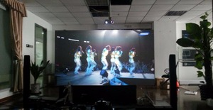 Image 5 - Low price for High Contrast Rear Projection film dark gray rear projection foil for advertising,1.524m*0.6m
