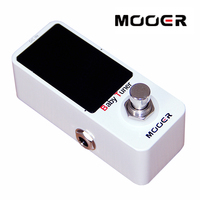 MOOER Micro Series Baby Tuner Effects Pedal For Electric Bass Guitar Electric Guitar Bass Accessories