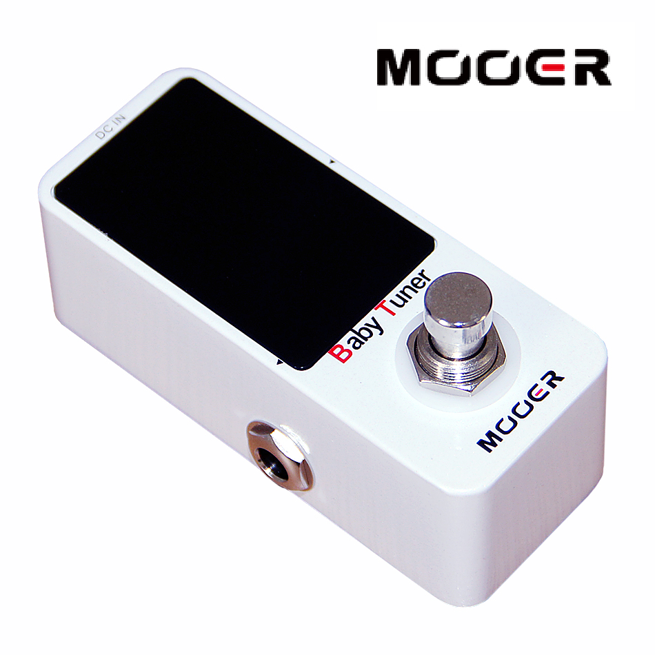 MOOER Micro Series Baby Tuner Effects Pedal for Electric Guitar / Guitar Accessories