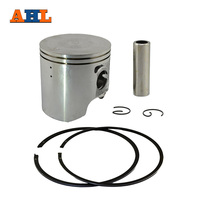 Bore Size 66 5mm Motorcycle 50 Piston Piston Ring And Clip Kit For SUZUKI TSR200 TSR