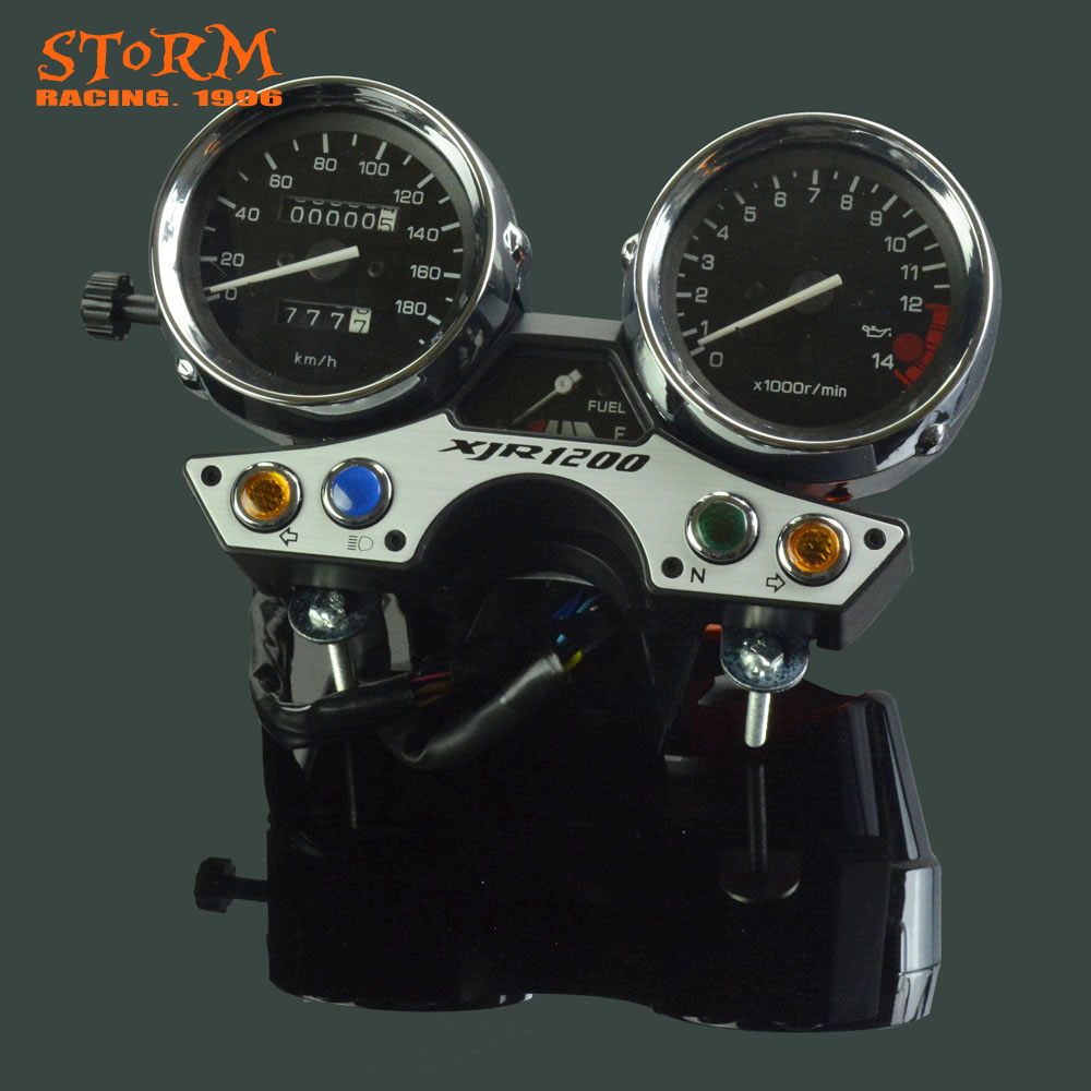 180 OEM Motorcycle Speedometer Tachometer Odometer Display Gauges For YAMAHA XJR 1200 XJR1200 1994 1995 1996 1997-in Instruments from Automobiles & Motorcycles    1