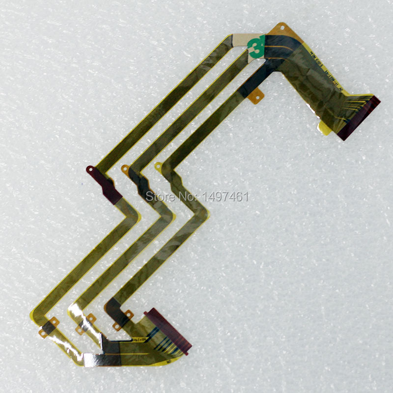 LCD Hinge Rotate Shaft Flex Cable For Sony HDR-XR160E HDR-XR260E HDR-CX360E HDR-PJ10E XR160 XR260 CX360 PJ10 CX540 Video Camera