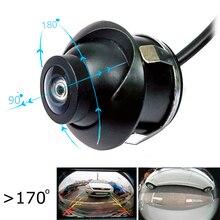 360 градусов Full HD CCD night viosn 180 градусов горизонтальный угол автомобиля задняя сторона фронтальная камера заднего вида динамический трек cuver опция