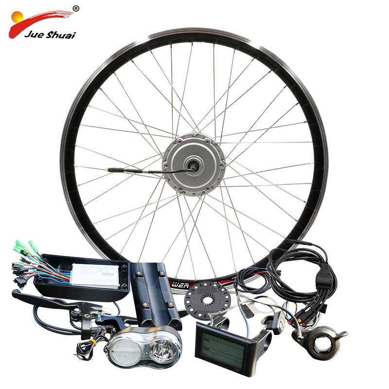 BAFANG Motor E-bike Kit 36V 48V 250W 350W 500W BPM Hub Motor Front 8FUN BAFANG Motor Bicycle Electric Bike Conversion Kit waterproof electric bike conversion kit system for 36v250w 350w hub motor kit