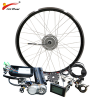 BAFANG Motor E bike Kit 36V 48V 250W 350W 500W BPM Hub Motor Front 8FUN BAFANG Motor Bicycle Electric Bike Conversion Kit