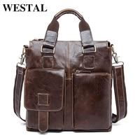 Genuine Leather Men Briefcase 14 Laptop Business Bag Cowhide Men S Messenger Bags Luxury Lawyer Handbags