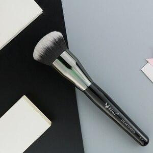 Image 3 - BEILI 1 adet sentetik saç tek büyük toz Fan krem vakıf Stippling kaplama tek makyaj fırçaları