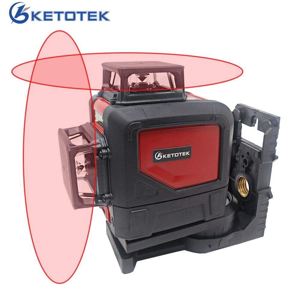KT902C 8 lines laser level 360 Self leveling 3D Laser Level Vertical and Horizontal Cross Super