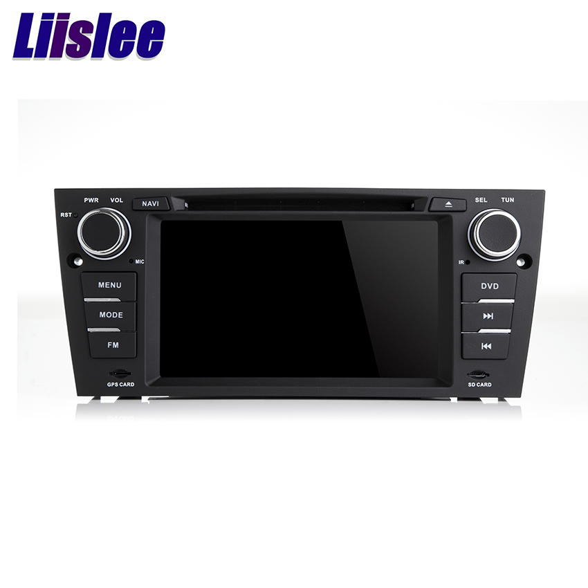 Liislee Car Navigation GPS Multimedia Audio Video Multi Point Touch For BMW 3 Series E90/E91/E92 WiIFi Radio Navi DVR