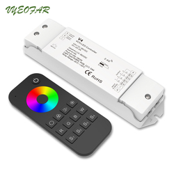 RT4 Remote Controller Led RGBW Con 2.4 GHz V4 Ricevitore; DC12V 24 V in ingresso; 5A * 4CH uscita LED Dimming RGB RGBW Controller