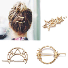 M MISM Girls Moon Hairpins Hair Clips Hairgrip Hair Accessor