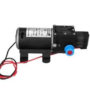Image 2 - DC 12V 100W diyaframlı su pompası küçük güvenli yüksek basınçlı kendinden emişli pompa yüksek kaliteli 160PSI 8Lpm pompa yapmak wody mini pompa