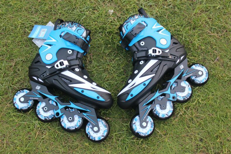 높은 품질! 성인 남성 전문 인라인 스케이트 신발 프리 스타일 스케이트 부츠 야외 롤러 스케이트