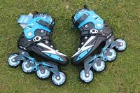 High quality!Adults Men's Professional Inline Skate Shoes Freestyle Skating Boots Outdoor Roller Skates