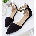 Woman Shoes Spring Summer 2017 Pointed Toe Flats Soft Fashion Brief Shoe