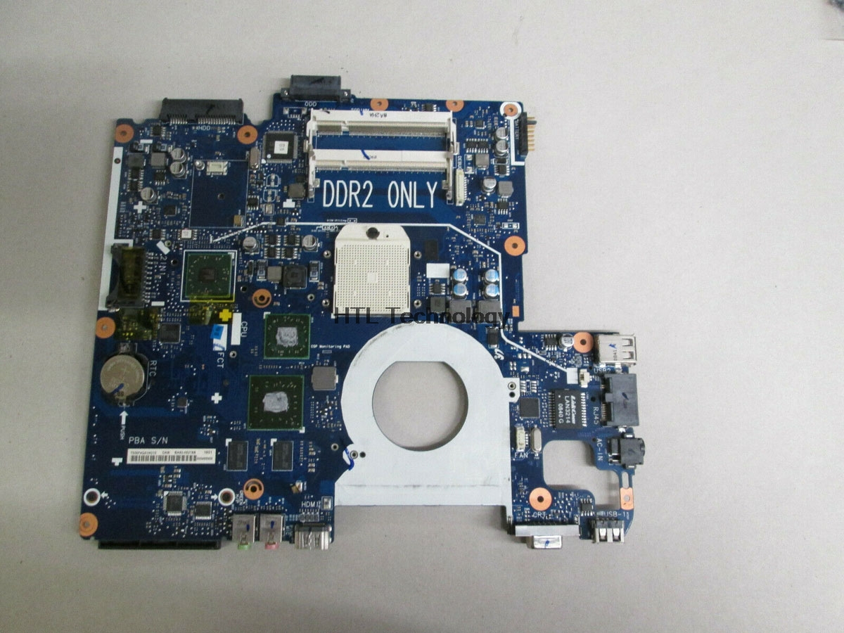 HOLTIME Laptop Motherboard For Samsung NP-R503 R503 NP-R505 R505 BA92-05154A BA92-05223A BA92-05223B HD3470 DDR2