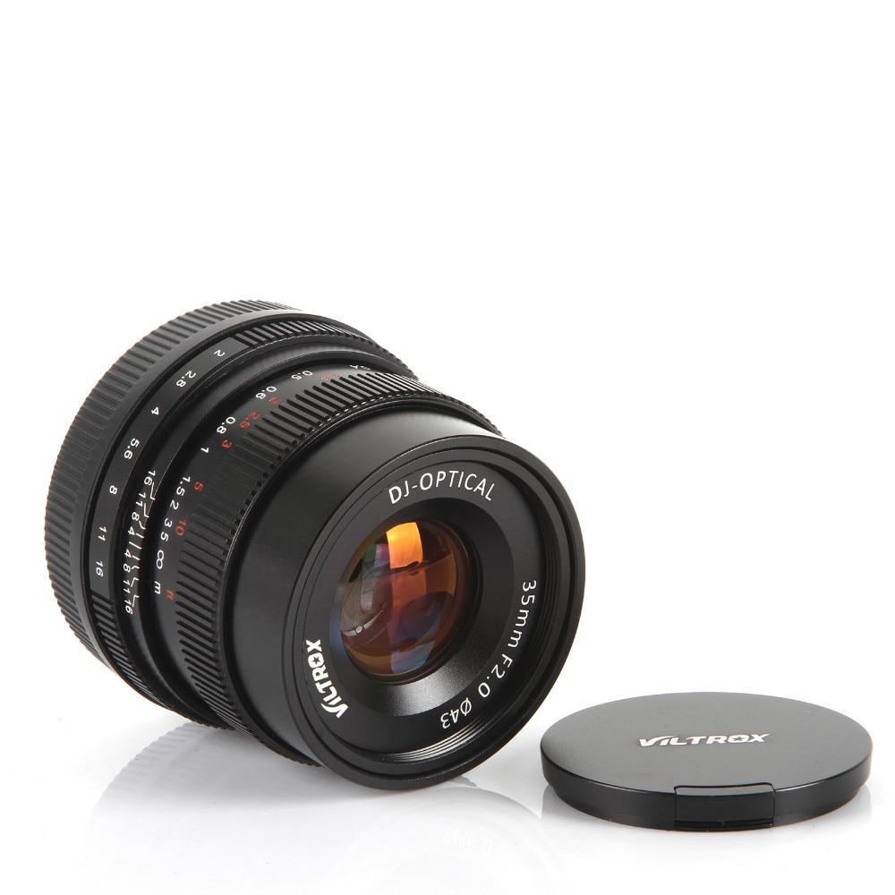 Viltrox 35mm F2 gran angular gran apertura fija lente para Sony NEX ...