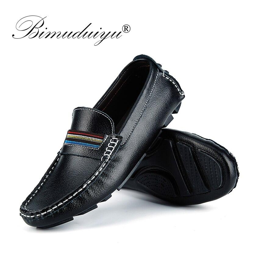 Style Main Chaussures Véritable La Bimuduiyu white Conduite blue Conception Mocassins Black À Casual brown Marque De Cuir Plat Britannique Mode Hommes En zwEgTY