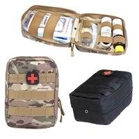 Открытый выживания тактический медицинская аптечка Молл медицинские крышка emt аварийного военный посылка Охота Утилита ремень сумка
