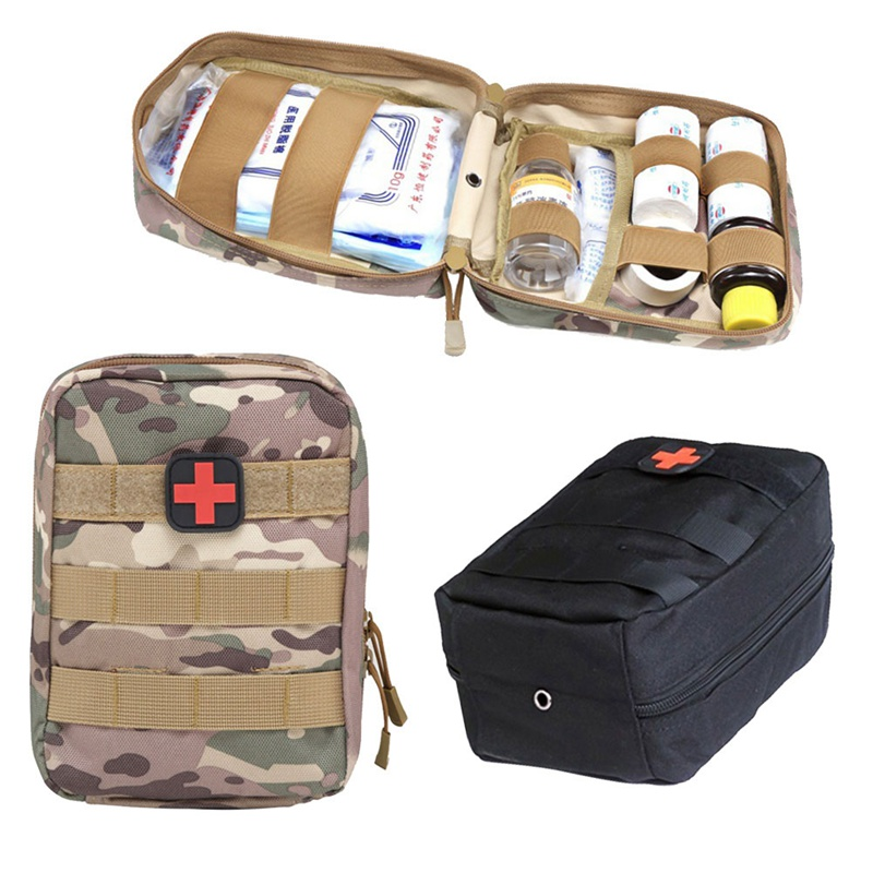 Outdoor Survival Tactical Medical First Aid Kit Molle Medical EMT Cover Emergency Military Package Hunting Utility Belt Bag 5 colors outdoor first aid bag molle medical emt cover emergency military program ifak package travel hunting utility pouch bags