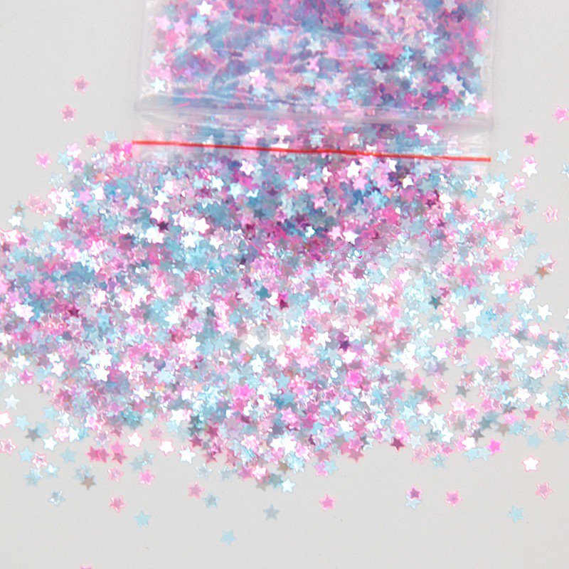 Happy Monkey 10g 3mm Glitter Slime Additives Supplies Sequins Slices Toppings Sprinkles Filler For Fluffy Cloud Clear Slime Clay