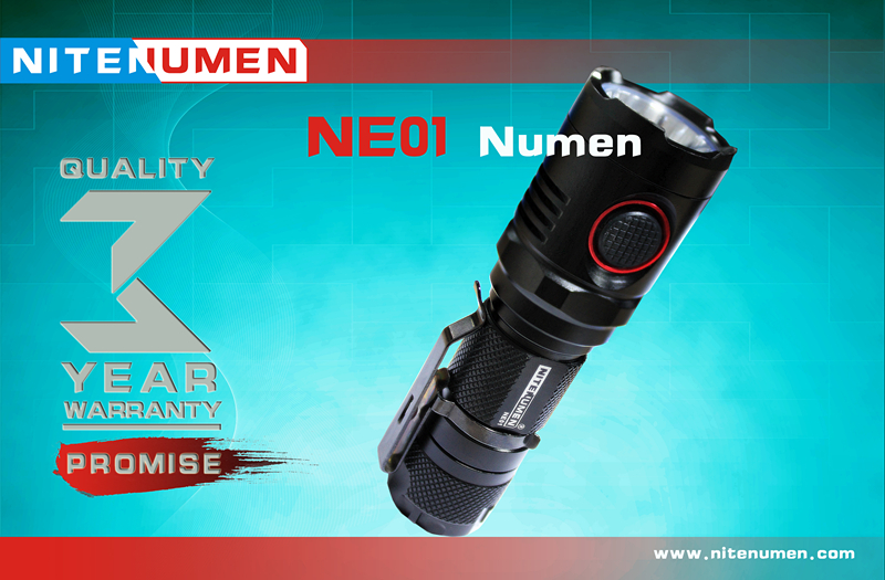 NITENUMEN  CREE XM-L2 U2 LED  Smallest USB 18650 flashlight nitecore mt10a 920lm cree xm l2 u2 led flashlight torch