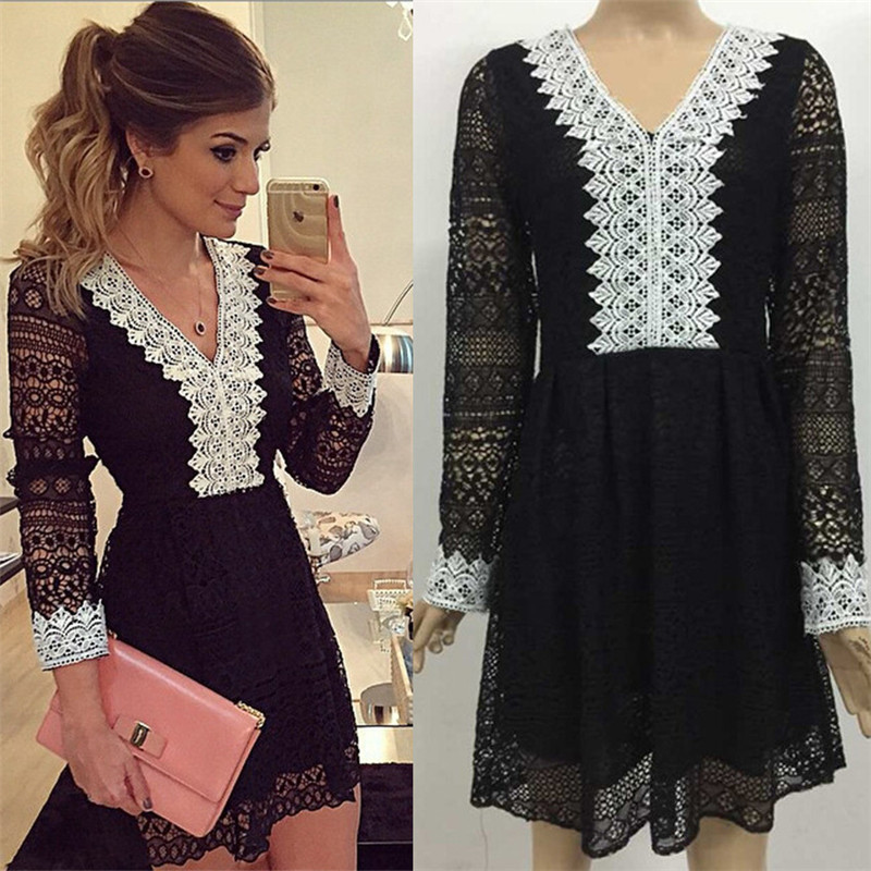 Aliexpress.com : Buy Gamiss Autumn Sexy Club Dress Women MIni ...