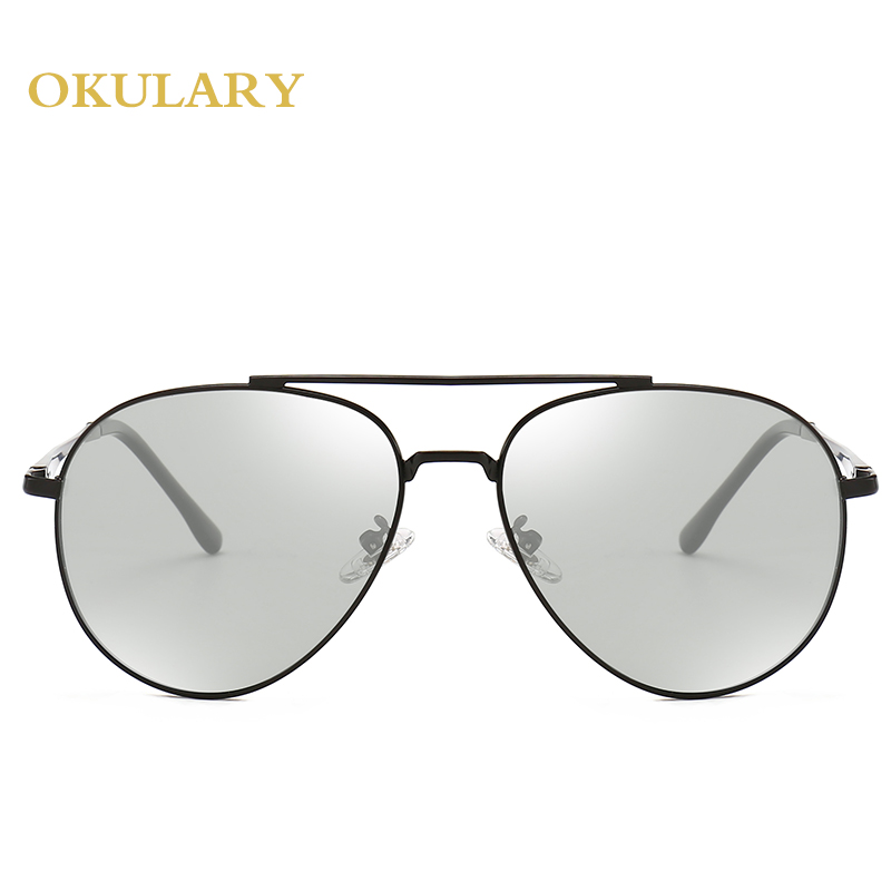 Men Polarized Sunglasses Black/Brown Metal Frame UV400 High Quanlity Goggle Driving Glasses Come With Box