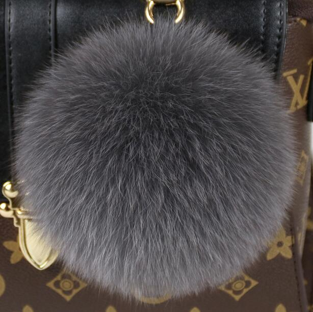 Fuzzy Luggage Charm