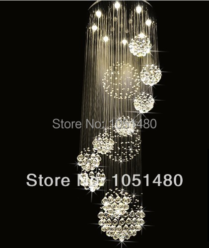 new luxury crystal chandelier lighting fixtures modern crystal lamp wideth 80cm staircase chandelier