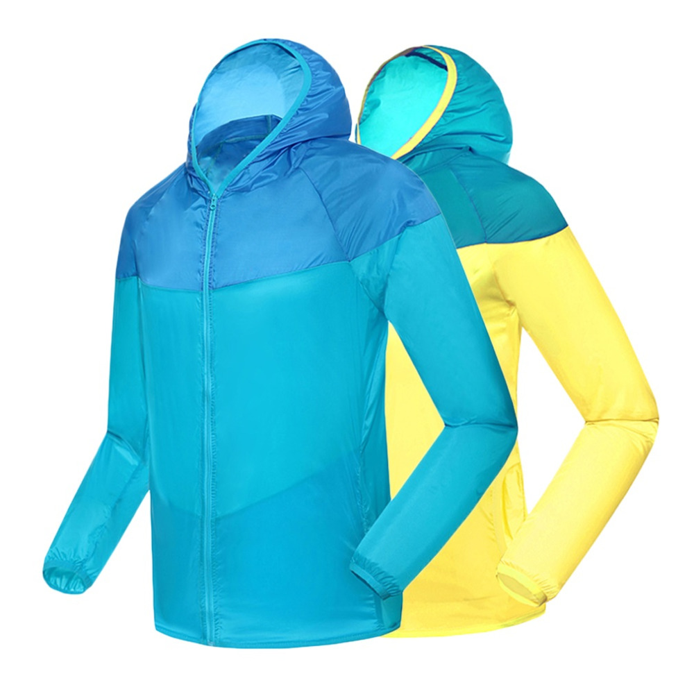 Mens Cycling Jacket Quick-Drying Outdoor Riding Hoody UV Sunscreen Windproof Coat Jacket