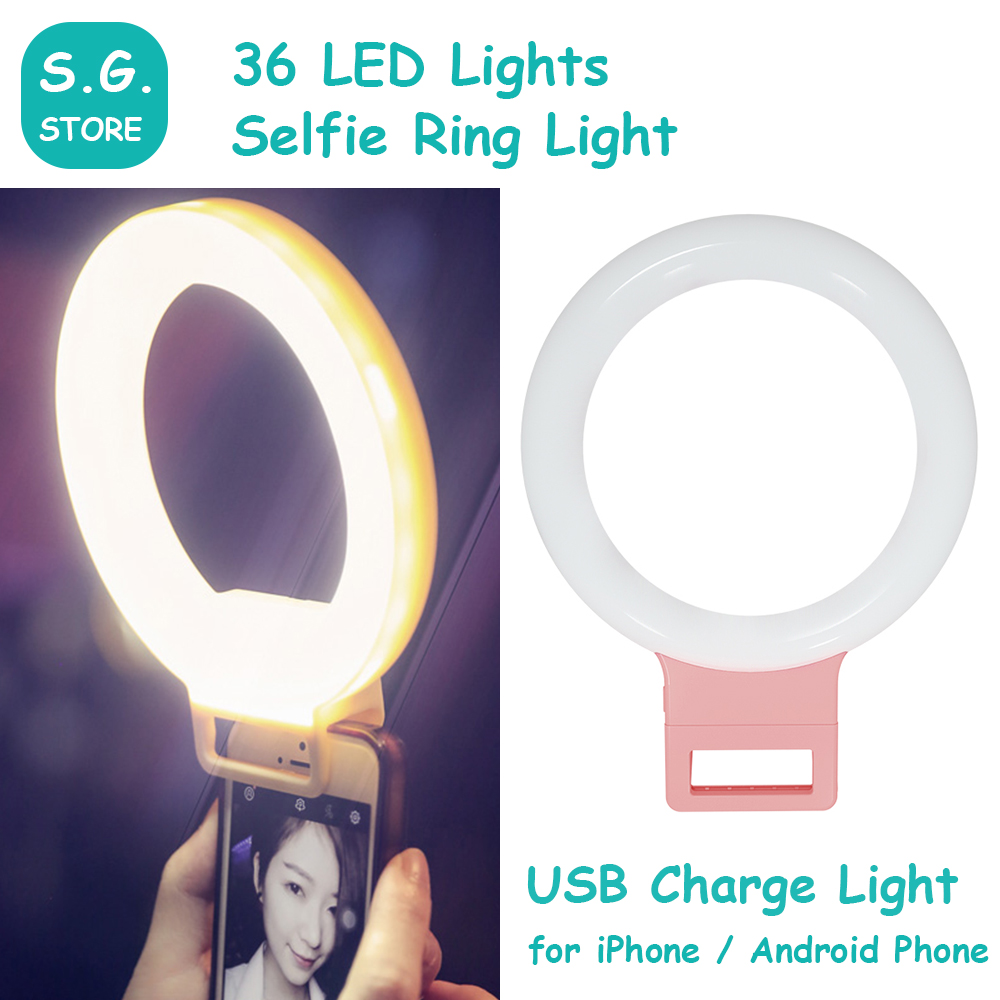Heat & White Adjustable Brilliant Selfie Led Flash Ring Mild For Sensible Telephones Stay Video Studio Supplimentary Mild