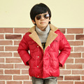 2017 autumn winter boys warm cotton padded outerwear new casual boy parkas thicken coats jacket for baby children's kids brand