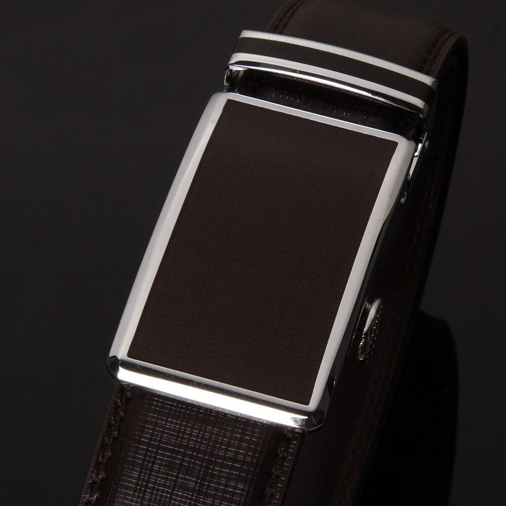 d63c93ab3ef6 Comprar Los hombres del 2016 lujo ceinture Cuero auténtico marca diseñador  cinturones hombres de alta calidad automática hebilla de cinturón de  negocios ...
