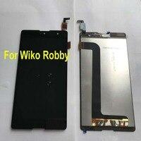 LTPro Orijinal En Iyi dokunmatik LCD ekran Panel Ekran Digitizer Meclisi Sensörü Wiko Robby Için Telefonu Yedek Siyah