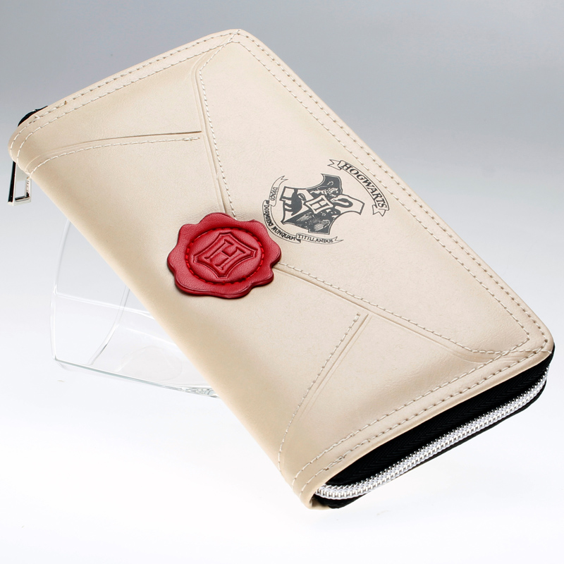 Harry potter letter zip around wallet pu fashion women for Harry potter letter purse