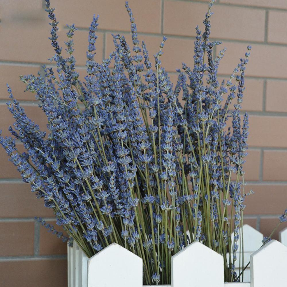 DIY Flower Artificial Flowers Lavender Natural Dried Flowers Bouquet Wedding Party Home Flower Decoraion Handmade