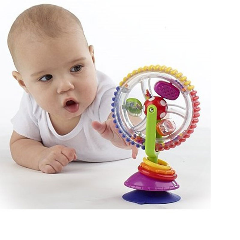 Baby Toys 0-12 Months Wonder Wheel Rattles Para Baby Stroller Toys