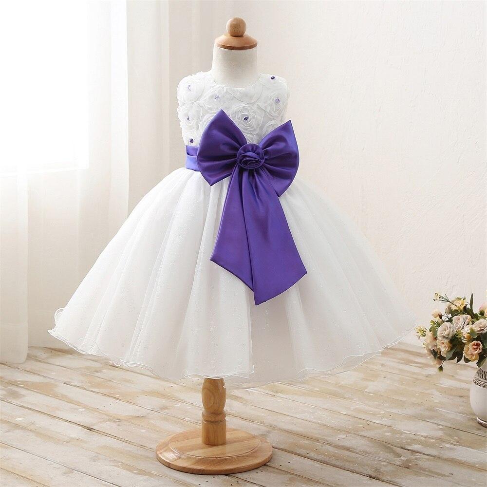 Infant kids Costume For Girl Wedding Party Tulle Fluffy Children ...