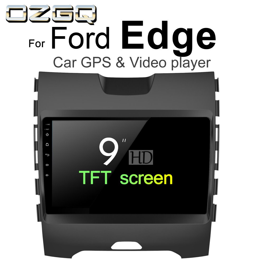 OZGQ Android 6.0 Car Player For Ford Edge 2015 2016 2017 2018 HD Screen Auto GPS Navigation BT Radio TV Audio Video Music Stereo полусапоги chic & swag chic & swag ch034awvoa05 page 4