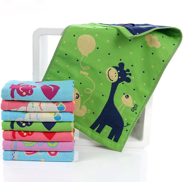 Hot Sale 100 Cotton Luxury Cute Face Hand Towel 3 Ply - Handtücher Sale