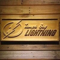 Tampa Bay Lightning 3D Wooden Sign