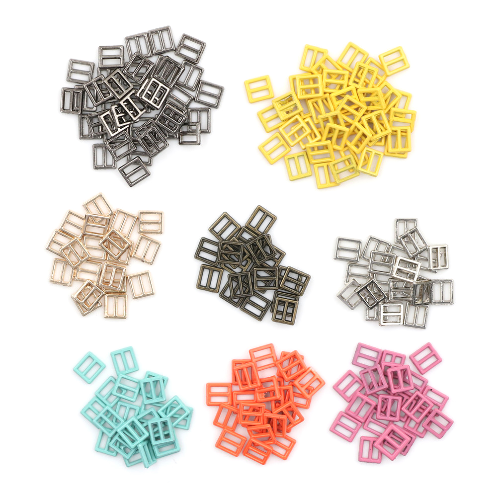 Newest 20pcs/lot 4MM DIY Patchwork Buckle Handmade Sewing Mini Buckle For Bjd Dolls Dolls Clothing Adjustable Button