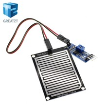 GREATZT 1set/lot Snow/Raindrops Detection Sensor Module Rain Weather Module Humidity For Arduino(China)