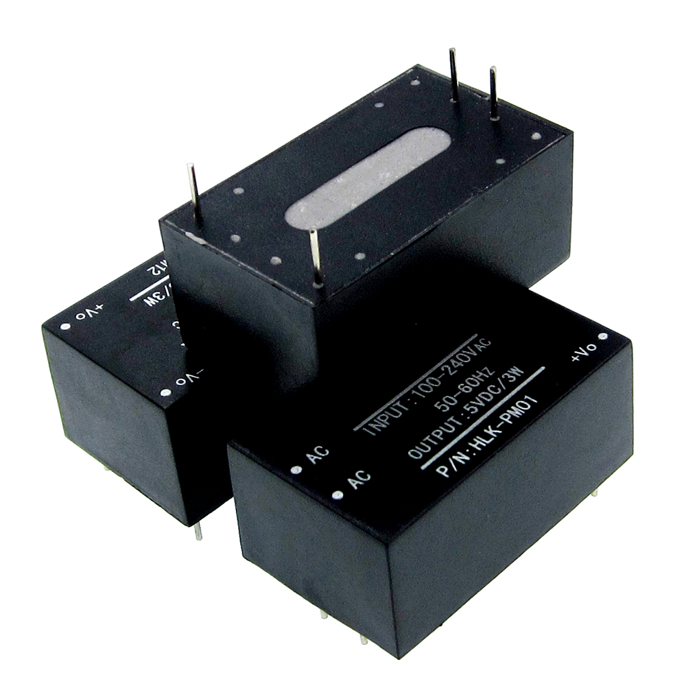 1pcs TSP-03 Replace HLK-PM03 AC-DC 220V To 3.3V Step Down Buck Power Supply Module Intelligent Household Switch Converter